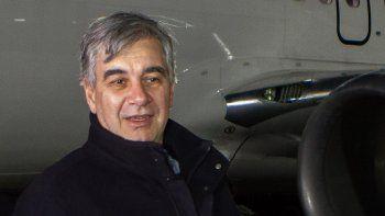 El presidente de Aerolíneas, Mario DellAcqua, estuvo en Neuquén.