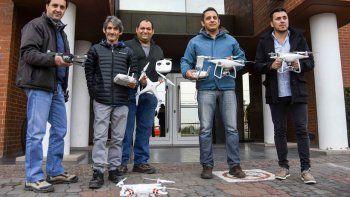 Diez droneros patagónicos ya tienen su carnet de conductor
