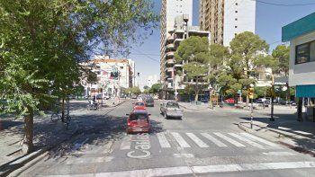 Los encontraron en pleno centro, en Carlos H. Rodríguez y Avenida Argentina.