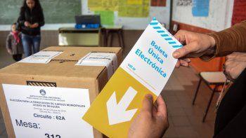 La boleta electrónica debutó en la capital en las elecciones del 2015.