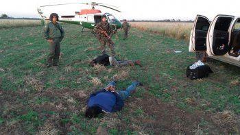 Secuestran más de mil kilos de cocaína tirada de un avión