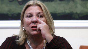 La diputada insiste en que De Vido era el cajero de Néstor Kirchner.