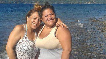 Madre e hija en un encuentro en San Martín de los Andes.