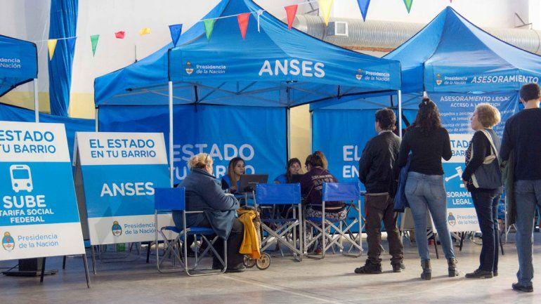 """""""El Estado en tu barrio"""" recorre el Chaco con presencia de la ANSES"""