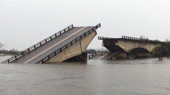 Las intensas lluvias que cayeron en Corrientes provocaron el colapso.