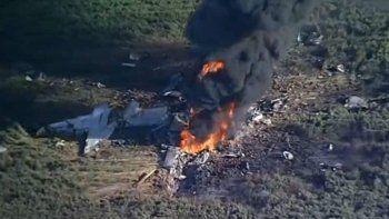 estados unidos: 16 muertos al caer un avion militar