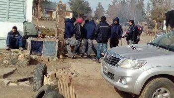 mineros tomaron oficinas por los despidos y los bajos salarios
