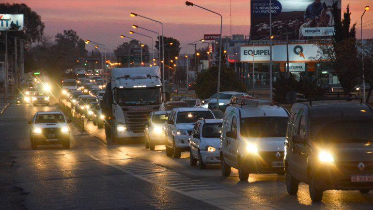 En uno de los ingresos a Neuquén serán instalados los dispositivos para contar los vehículos.
