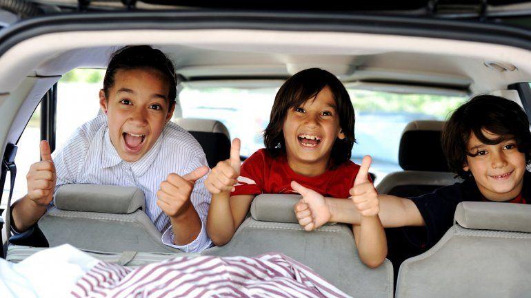 Tips para entretener a tus hijos si tenés un largo viaje en auto