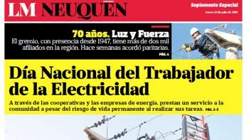 dia nacional del trabajador de la electricidad