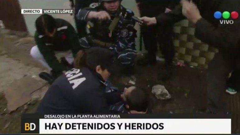 Gendarmería comenzó el desalojo de los trabajadores de Pepsico