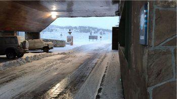 pino hachado y hua hum estan cerrados por acumulacion de nieve