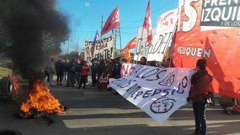 liberan los puentes carreteros tras el corte por la represion en pepsico