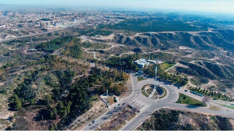 Así se ve el Parque Norte desde el cielo
