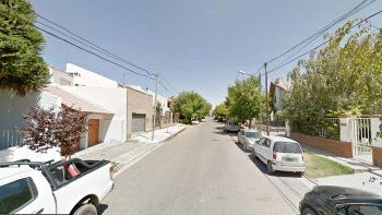 La calle Río Dulce, donde supuestamente vive la persona que denunció la mujer. (Foto de archivo)