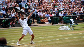 El croata Cilic espera rival para jugar la gran final de Wimbledon