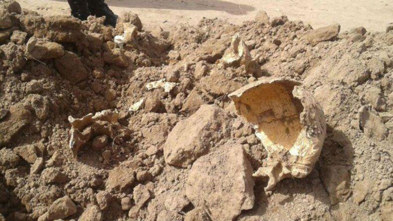 Hallan restos humanos y creen que serían de desaparecidos