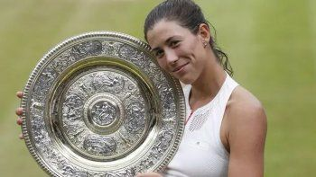 Garbiñe Muguruza venció a Venus Williams y se consagró campeona