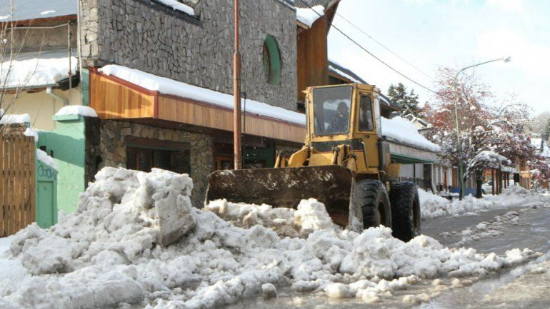 Comerciantes trataron de improvisado al Gobierno ante las nevadas