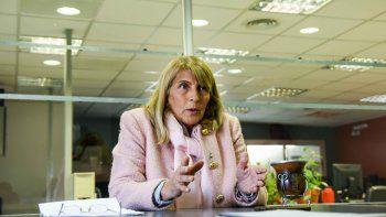 La candidata del MPN, por la lista Azul, fijó postura por los fondos provinciales. Buenos Aires reclamó en la corte que se pueda modificar el Fondo del Conurbano. Esto podría implicar que el resto reciba menos coparticipación. A uno le crispa los p