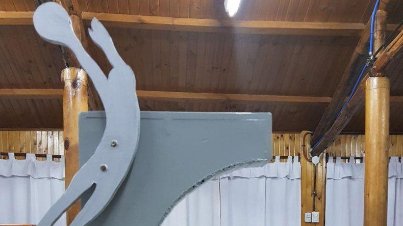 <div>La escultura de 5 metros de altura  estará ubicada en leloir al 500.  </div>