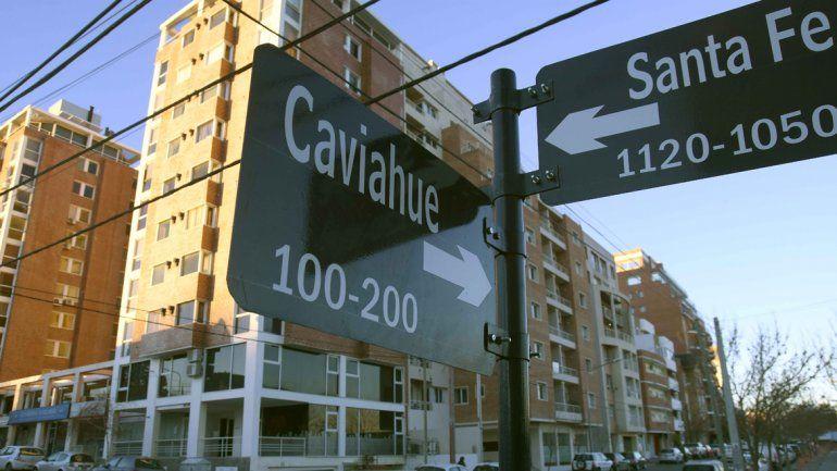 El complejo habitacional está ubicado en calle Caviahue al 200.