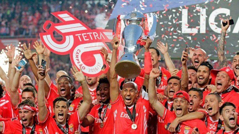Benfica es el campeón.