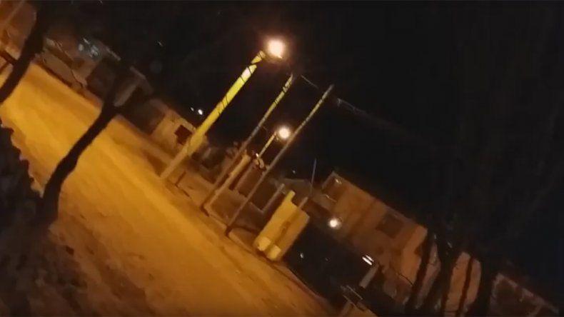 Otra vez sonaron las trompetas nocturnas en Neuquén: Se escucha re piola