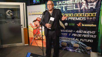 Antonio Reus, director del IJAN, explicó que La Chequera Estelar incluye los cuatro sorteos extraordinarios de fin de año. Tiene premios anticipados.