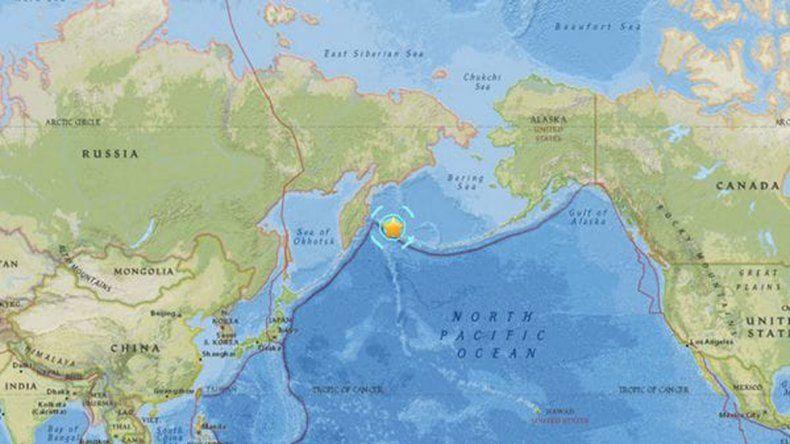 Un sismo sacudió Rusia y hubo temor por tsunami