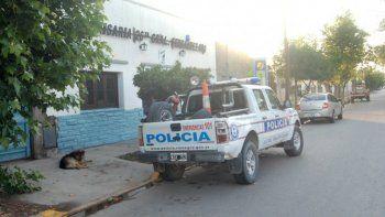 La Comisaría 26 de Fernández Oro intervino en el robo a la iglesia.