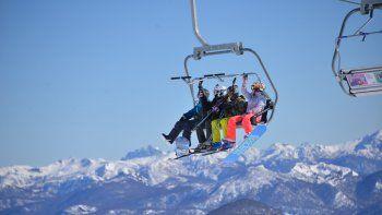 la nieve dejo $327 millones y mas turistas en 15 dias de temporada