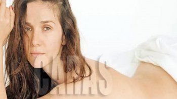 natalia oreiro en fotos al desnudo, sin maquillaje ni photoshop