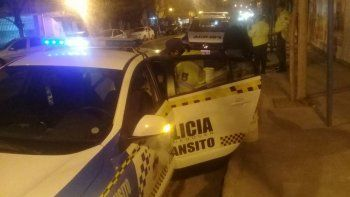 borracho iba en contramano y atropello a un policia