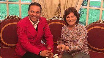 Castro se reunió con Olga Garaventa, la viuda de Roberto Sánchez.