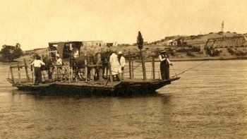 El primer comercio que tuvo Neuquén abrió en 1897 y estaba cerca del puente ferroviario.