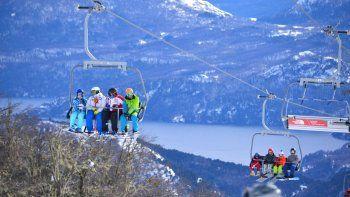 El buen clima después del temporal dejó unos 4800 esquiadores por día.