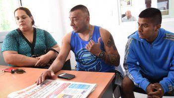 La familia de Pucará Vidal señaló que la Policía se le abalanzó y le pegó.