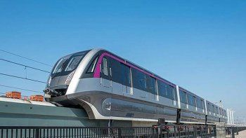 La locomotora podrá impulsar entre tres y cinco vagones.