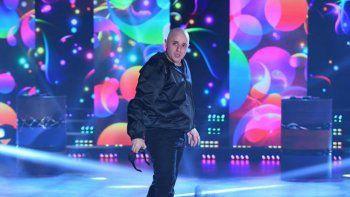 El Dipy se preparaba para bailar en trío con Lanzelotta como invitado.