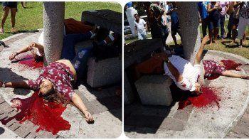 Los homicidios ocurrieron en el barrio Las Gaviotas. Antes de irse, los sicarios les dispararon a los testigos.