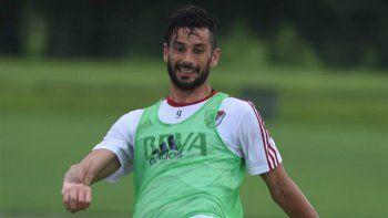 El ex Rosario Central sufrió un esguince en la rodilla izquierda en la pretemporada en Orlando.