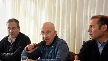 El gobernador Gutiérrez y Leonel DAcharry, secretario de la Gobernación.
