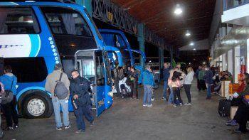 El damnificado tomó un colectivo Flechabus desde Cipo a Córdoba.
