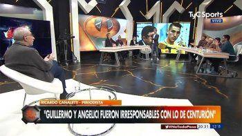 choque de titanes: canaletti invito a pelear a azzaro en su programa