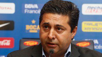 Angelici dijo que esperaban un cambio en el jugador que no se dio.