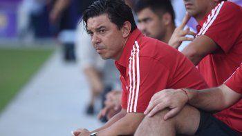 El entrenador habló en medio de la pretemporada de River en EE.UU.