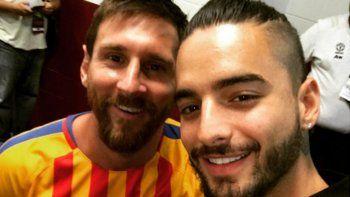 maluma logro sacarse una selfie con su idolo