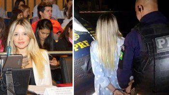 La misionera Danna Báez fue detenida cuando iba en micro a San Pablo.