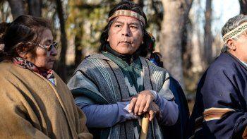 Jorge Nahuel, líder de la Confederación Mapuche, dijo que YPF nunca muestra los planes de trabajo a las comunidades.